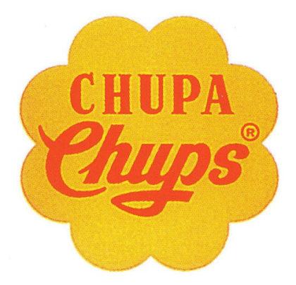 chupa chups logo zaprojektowane przez Salvadora Dali